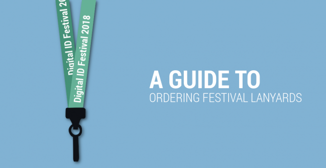 A Guide to Ordering Festival Lanyards