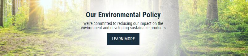 Click to see our Environmental Policy