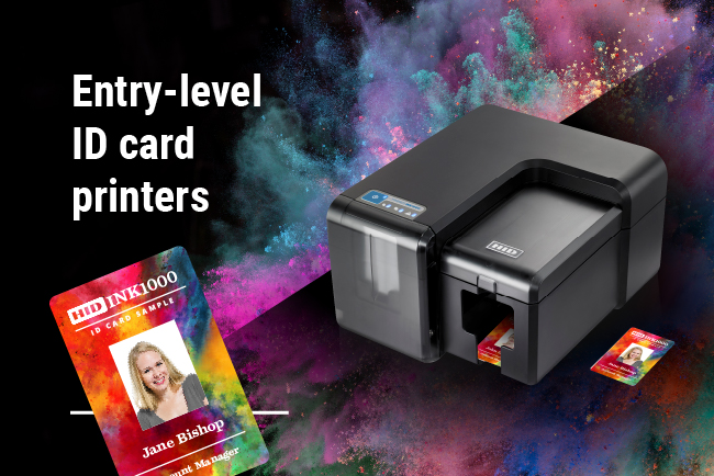 entry level id card printers-100