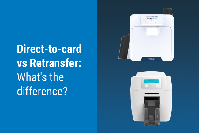 Direct-to-card vs retransfer